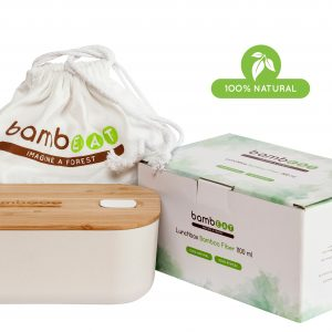 Lunch Box bamboo biodegradabile 100% natural